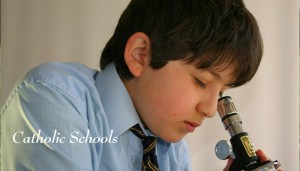 Catholic-Schools microscope