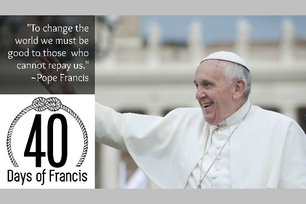 40 Days of Francis