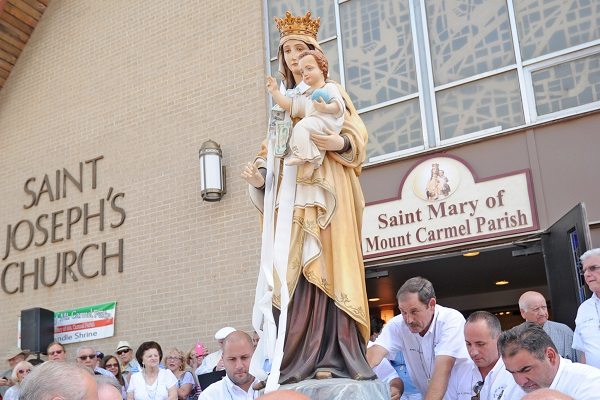Feast Of Our Lady Of Mount Carmel Quotes: Our Lady Of Mt. Carmel Festival