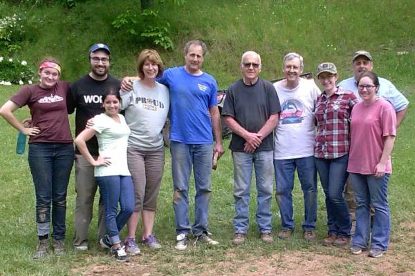 pilgrims to West Virginia