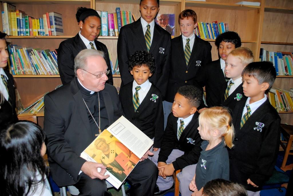 Bishop at Saint Peters School 2
