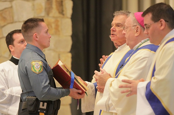 Bishop celebrates annual Blue Mass