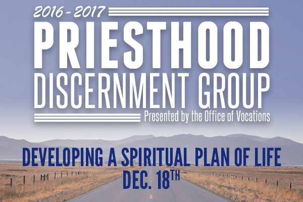 Vocations Discernment Meeting
