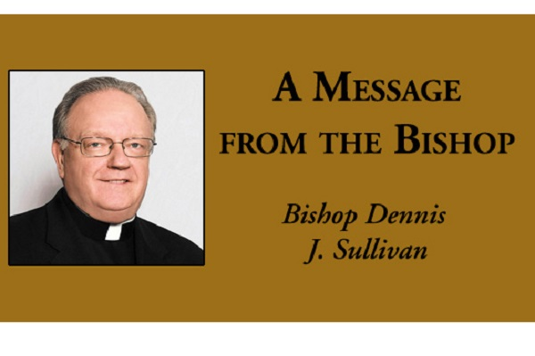 A Message from the Bishop of the Camden Diocese:THE