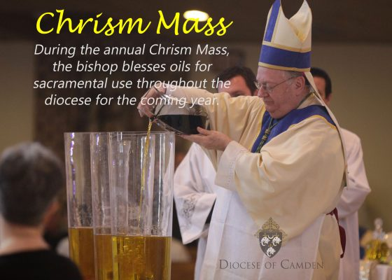 Bishop Sullivan celebrates Chrism Mass