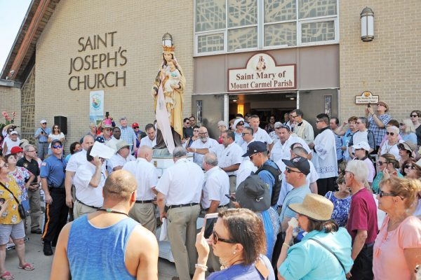The 144th Feast of Our Lady of Mount Carmel – Diocese of Camden