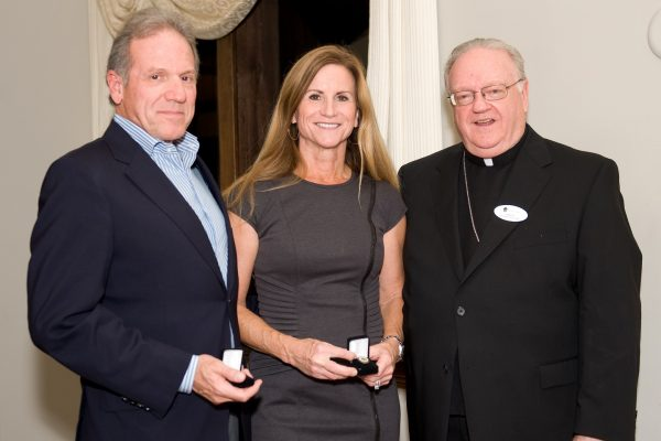 Benefactors oct 2 with Bishop award